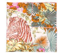 - Seidentuch mit floralem Print - women - Seide