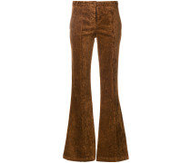 flared leg trousers
