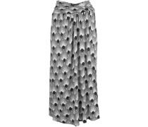 stretch jersey midi skirt