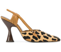 'Stainless' Slingback-Pumps
