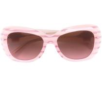 'Pop Chic' striped sunglasses