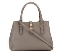 Handtasche mit goldfarbenem Verschluss - women