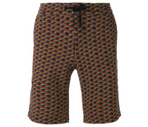 - Shorts mit Regenbogen-Print - men - Baumwolle