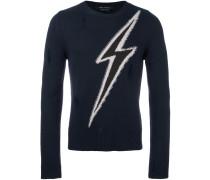Pullover mit Blitz