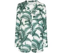 Pyjama mit Farn-Print
