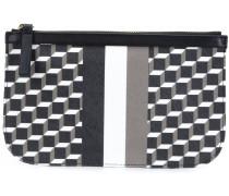Clutch mit geometrischem Design