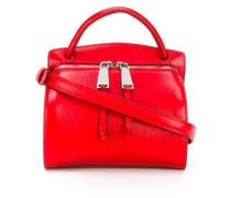 Handtasche mit Zwei-Wege-Reißverschluss
