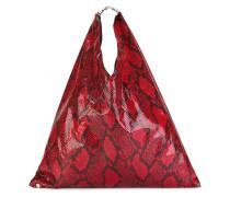 Handtasche mit Schlangenleder-Print - women