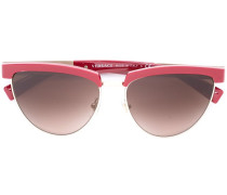 Sonnenbrille mit Halbrahmen