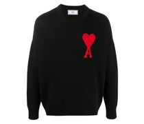 Pullover mit Oversized-Logo