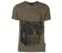 Skull motif T-shirt