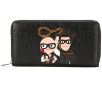 family patch zip wallet
