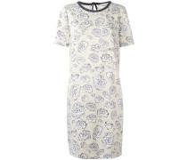 T-Shirt-Kleid mit Blumen-Print - women