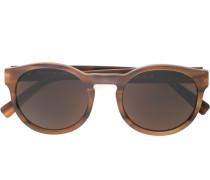 round frame sunglasses - men - Acetat