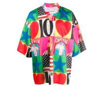 T-Shirt mit amerikanischem Pin-up