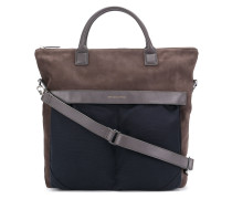 panelled tote