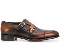 Ausgeblichene Monk-Schuhe