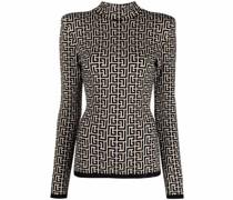 Pullover aus Monogramm-Jacquard