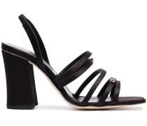 90 crystal embellished sandals