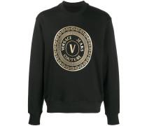 Sweatshirt mit Ketten-Print