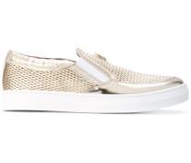 - Slip-On-Sneakers mit Netzeinsatz - kids