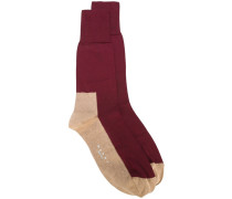 Socken in Colour-Block-Optik