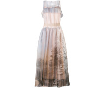 printed voile dress - women - Seide - 40