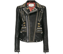 studded biker jacket - Unavailable