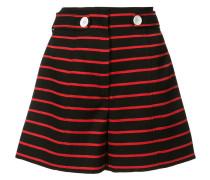 Gestreifte Shorts - women - Baumwolle/Wolle - 4