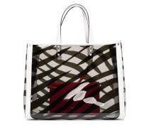 Kleiner 'Shirley' Shopper mit Zebra-Print