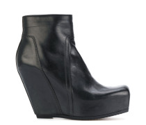 Wedge-Stiefeletten mit Plateausohle
