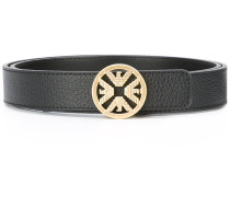 logo buckle belt