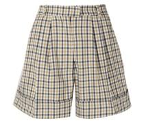 Nomade Shorts mit Check