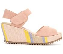 open toe raffia sandals