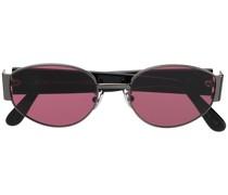 Runde 'X' Sonnenbrille