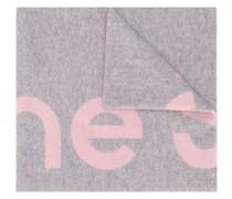 Jacquard-Schal mit Logo