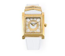 Quadratische Armbanduhr