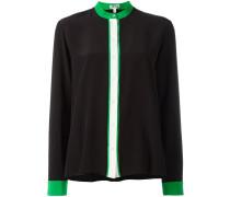 colour block blouse
