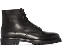Model 21 leather ankle boots