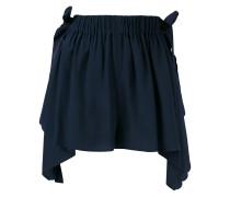 scalloped handkerchief shorts