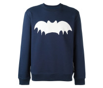 Sweatshirt mit Fledermaus-Print - men