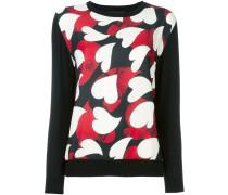 Pullover mit Herz-Prints