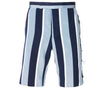 Shorts mit Distressed-Details