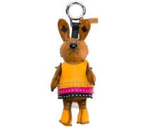 'Labbit' Hasen-Schlüsselanhänger aus Biberpelz