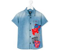 - Hemd mit kurzen Ärmeln - kids - Baumwolle - 10