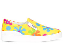 'Flower Power' Slip-On-Sneakers