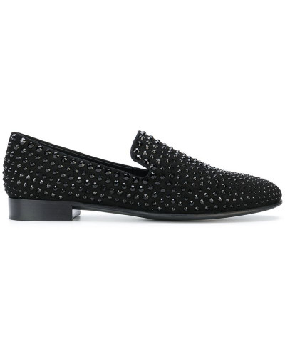 'David' Loafer mit Nieten