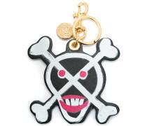 Schlüsselanhänger mit Totenkopf-Design
