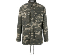 'Camouflage' Military-Jacke - men - Baumwolle