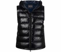 padded hooded vest